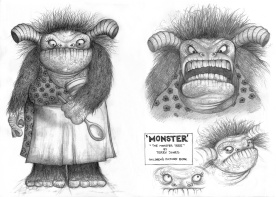 "Character concepts for ""The Monster Tree"""